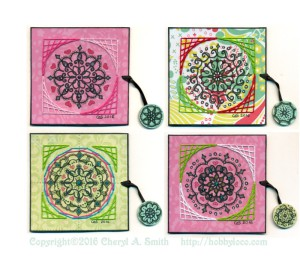 Mandala Chunky Pages.