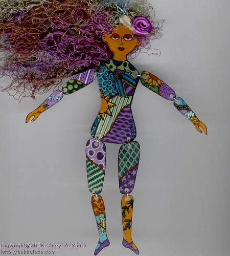 Shrink Plastic Art Doll