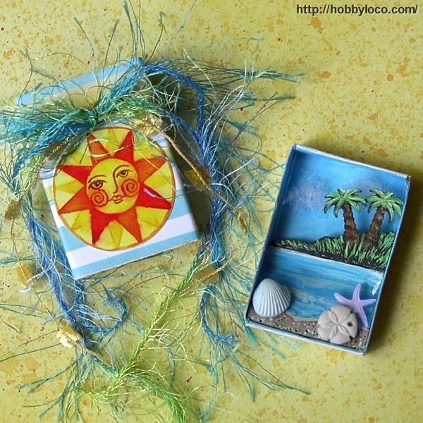 Beach Themed Pocket Shrine