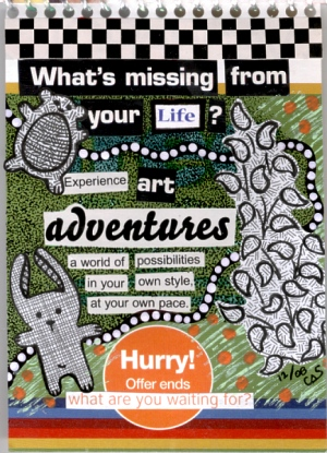 Junk Mail Journal - Adventures