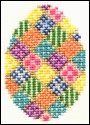 cross stitch egg pattern